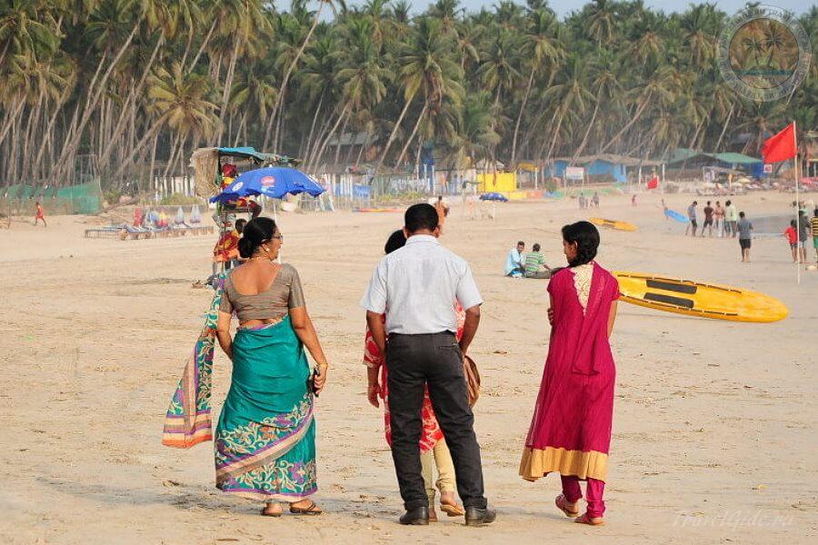 Пляж Палолем в Гоа